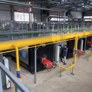 Строительство пароводогрейной котельной паровой мощностью 12тIч, водогрейной 9 мВт, Сарансккабель, Саранск 2019 г