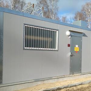 Строительство блочно-модульной котельной, 720 кВт. Пожарное депо, п.Залесный. г. Казань 2018 г